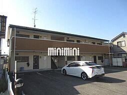 岐阜県岐阜市琴塚2の賃貸アパートの外観
