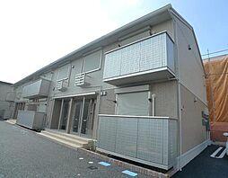 埼玉県三郷市東町の賃貸アパートの外観