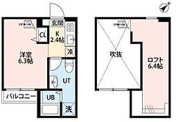 RECIDENCE ODASAGA(レジデンス オダサガ)[2階]の間取り