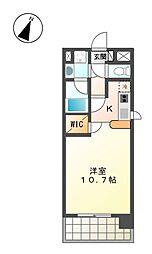 ELSTANZA OZONE[9階]の間取り