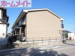 岐阜県美濃加茂市加茂野町木野の賃貸アパートの外観