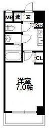 W-STYLE新大阪[6階]の間取り