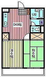 メゾンT−III[101号室]の間取り