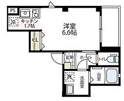 (仮称)ビューノ伊勢町[201号室号室]の間取り
