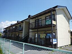 長野県諏訪市大字中洲の賃貸アパートの外観