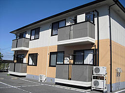 広島県東広島市三永1丁目の賃貸アパートの外観