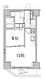レアライズ浅草II[5階]の間取り