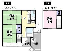 鳥取県米子市博労町4丁目 [一戸建] の間取り