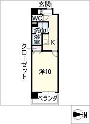 Dimus栄[8階]の間取り