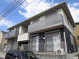 千葉県四街道市もねの里4丁目の賃貸アパートの外観