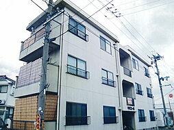 平田コーポ[1階]の外観