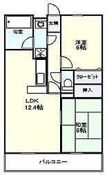 アニスティハイツ[1階]の間取り