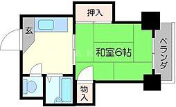 シティアーク新大阪[2階]の間取り
