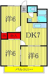 マンション小澤[102号室]の間取り