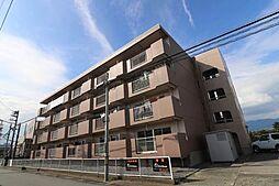 山梨県甲府市国母8丁目の賃貸マンションの外観