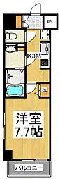 N-stage西所沢 10階1Kの間取り