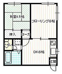 メゾンSUWAYA[2B号室号室]の外観