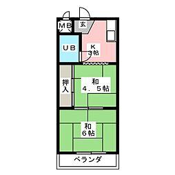 ステーションプラザビル[3階]の間取り