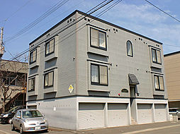 北海道札幌市東区北十条東15丁目の賃貸アパートの外観