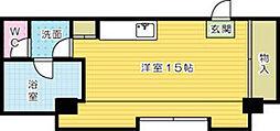 ベルガ片野[201号室]の間取り