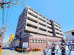 埼玉県新座市東2丁目の賃貸マンションの外観