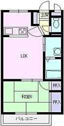 ランドール坂戸[305号室号室]の間取り