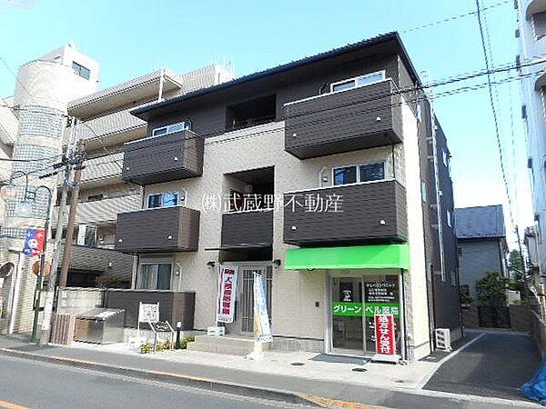 東京都小平市学園東町3丁目の賃貸アパート