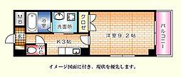 昭和町原野ビル--[201号室]の間取り