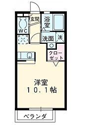 イルミーチョ[2階]の間取り