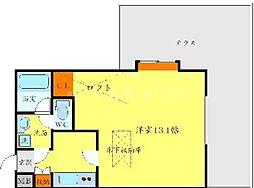 メゾン・プレジール[1階]の間取り
