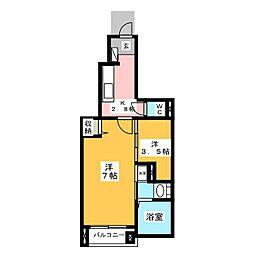 La Belleza[1階]の間取り