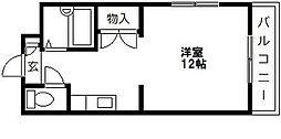 グリーンピア原田[4階]の間取り