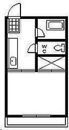 第一ウィスタリア[102号室]の間取り