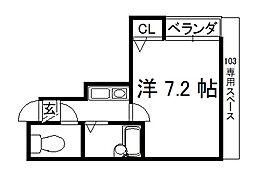 ソニックスマンション[103号室]の間取り