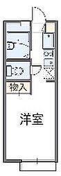 神奈川県横浜市栄区笠間2丁目の賃貸アパートの間取り