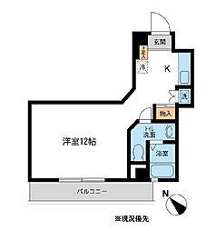アーバンパーク新横浜[4階]の間取り