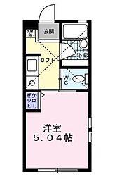 フェリーチェ湘南台[103号室]の間取り