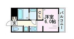 T−STUDIO[D1号室号室]の間取り