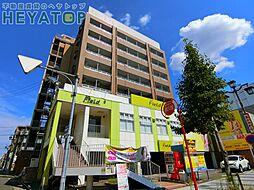 愛知県名古屋市瑞穂区洲山町2の賃貸マンションの外観