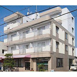 滋賀県草津市上笠の賃貸マンションの外観