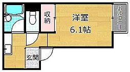 セフティ宮之阪[2階]の間取り