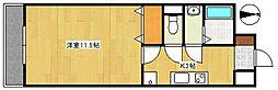 モンレーヴ葵東II[D-5号室]の間取り