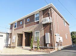 滋賀県甲賀市甲賀町大原市場の賃貸アパートの外観