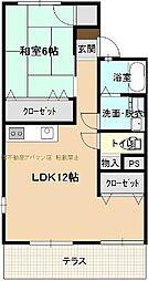 メゾン高須A棟[1階]の間取り
