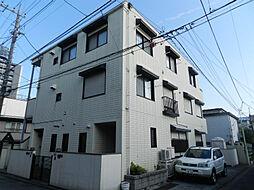 東京都品川区荏原6丁目の賃貸アパートの外観