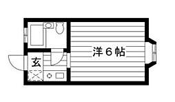 神奈川県海老名市上今泉4丁目の賃貸アパートの間取り