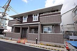 大阪府羽曳野市島泉8丁目の賃貸アパートの外観