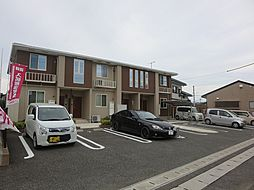 福岡県宗像市東郷5丁目の賃貸アパートの外観