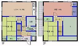 [一戸建] 茨城県水戸市双葉台5丁目 の賃貸【/】の間取り