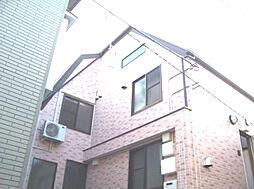 東京都大田区萩中1丁目の賃貸アパートの外観